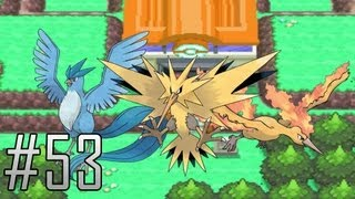 Pokemon Platinum Walkthrough Part 53: The Legendary Birds