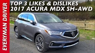 Here's the 2017 Acura MDX SH-AWD on Everyman Driver