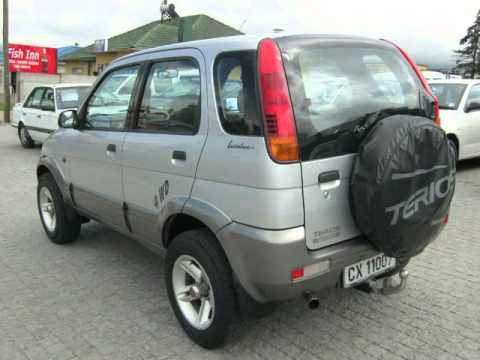 1999 daihatsu terios 1 3 4x4 auto for sale on auto trader south africa youtube. Black Bedroom Furniture Sets. Home Design Ideas