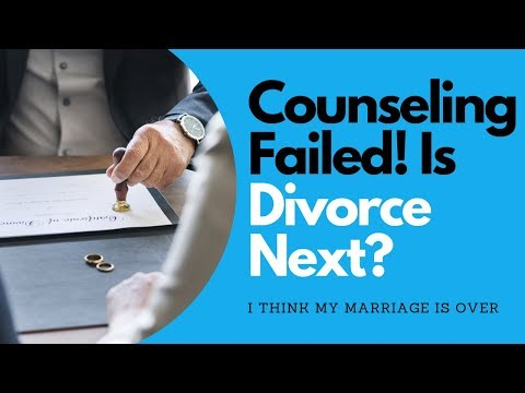 How do you divorce if counseling won't work? @goodmenproject