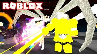 fighting with the new KAGUNE KOSSHI 😈 Roblox Ro-Ghoul in Spanish