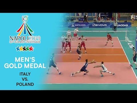 ITALY Vs. POLAND | Men's Gold Medal | FISU Summer Universiade - Napoli 2019