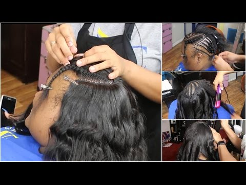 Thin Hair Sew in Tips and Tricks | Hair Bundles Installing Tutorial