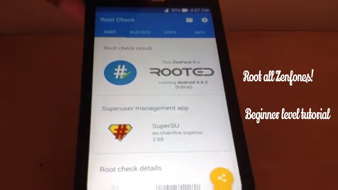 How to root Zenfone 2, 3, 4, 5 and all others!