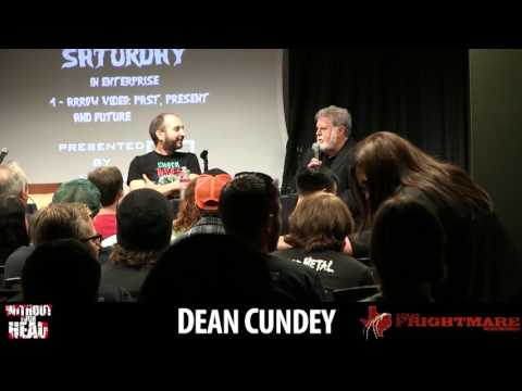 Dean Cundey of Halloween, Jurassic Park and more Q&A panel Texas Frightmare Weekend