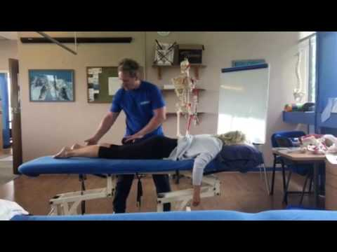 Mobilisation and Soft Tissue treatment of the Hip Joint to help lower back pain