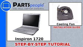 Dell Inspiron 1720 CPU Cooling Fan Replacement Video Tutorial