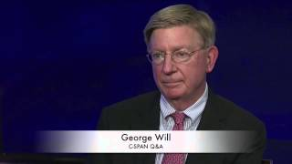 George Will on Controversy over his Column (C-SPAN)