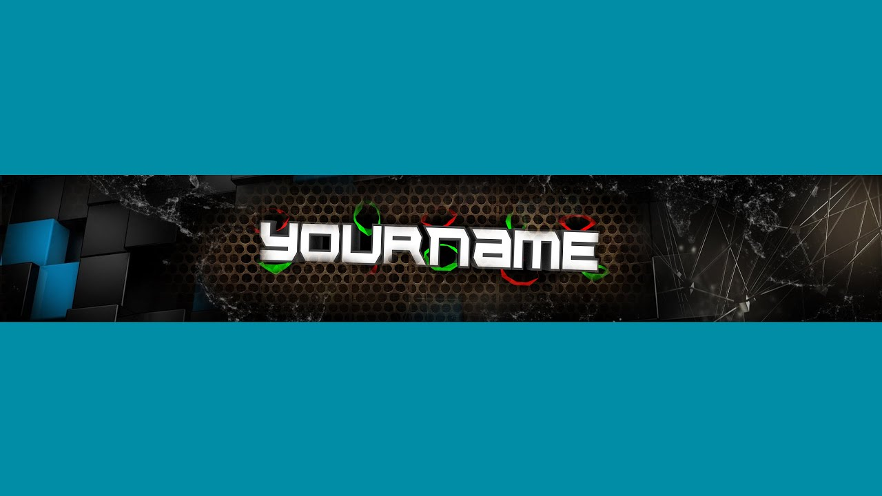 your name banner 3 youtube banner