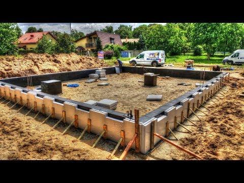 """Wyzwanie # dzień 10. Budowa domu SSO w 50 dni? S02E10 Izolacja termiczna """"fundamentów"""" Xps 10cm."""