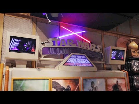Build Your Own Lightsaber at Tatooine Traders, Disney's Hollywood Studios, Walt Disney World Resort