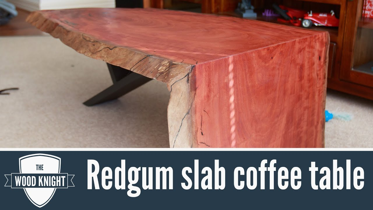 104 Redgum Slab Coffee Table YouTube