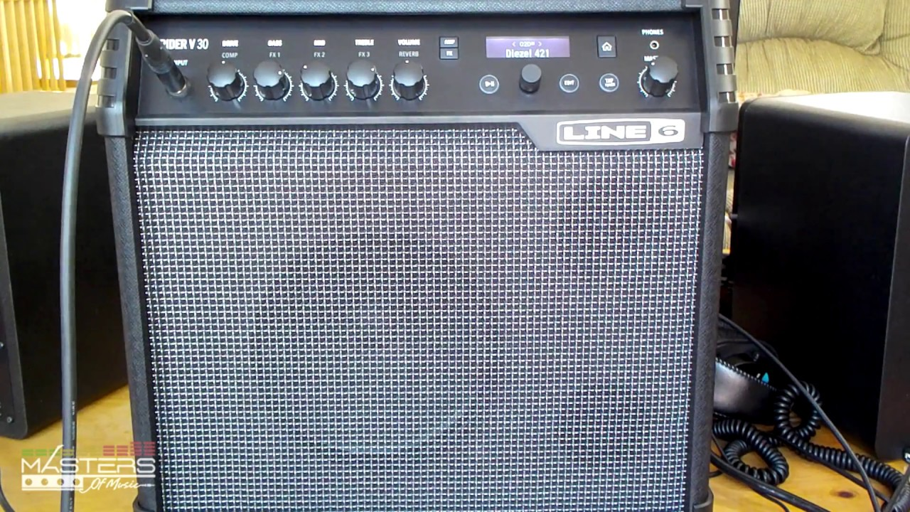 Line 6 Spider V Amp - Metal Recordings