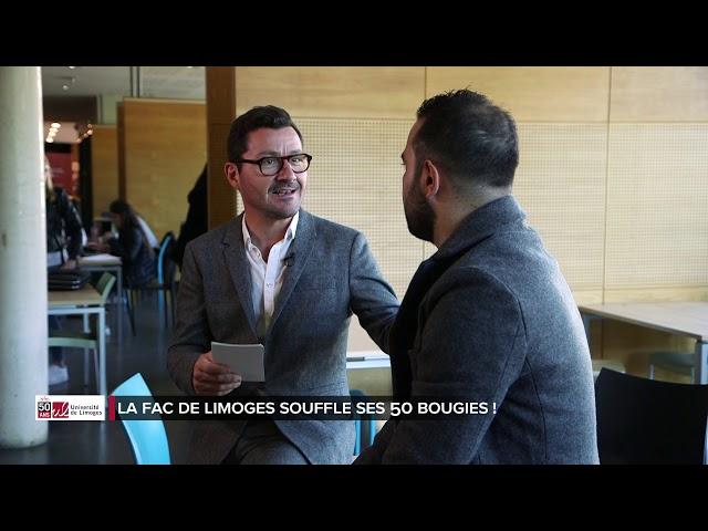 Les 50 ans de l'université de Limoges - PARTIE 4