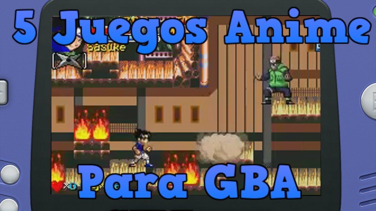 5 Juegos Anime Para Gba Parte 1 Youtube