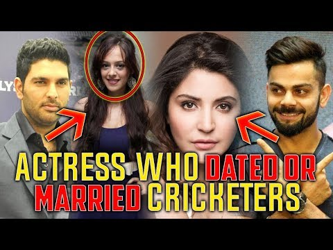 Bollywood Actress Who Dated or Married Cricketers ✔ - Duur: 3:36.