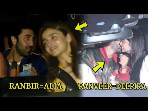 Ranbir Kapoor and Alia Bhatt, Ranveer Singh and Deepika Pdukone Together at Gully Boy Screening Mp3