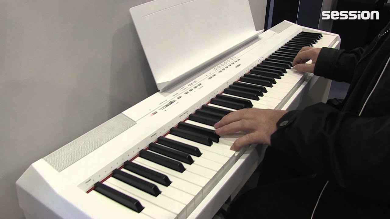 musikmesse 2015 yamaha digitalpianos ydp s52b p 115 wh. Black Bedroom Furniture Sets. Home Design Ideas