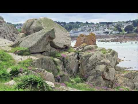 Pink Granite Coast (Cote de Granit Rose) & Guingamp, Brittany, France