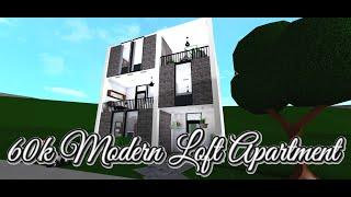 60k Modern Loft Apartment | Roblox/Bloxburg