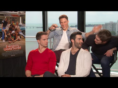Ryan Guzman, Blake Jenner, Tyler Hoechlin & Will Brittain Interview - EVERYBODY WANTS SOME!!