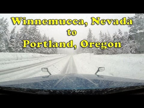 Driving from Winnemucca, NV to Portland, OR