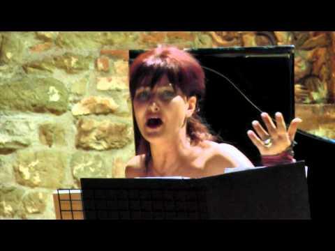 CHE FARO SENZA EURIDICE (Gluck) - TULLIA MANCINELLI soprano