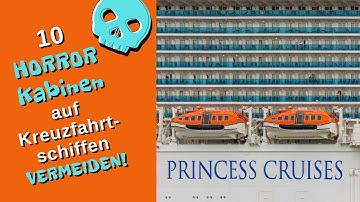 Diese 10 HORROR Kabinen auf Kreuzfahrtschiffen vermeiden! #Landgang24