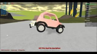 Roblox-Kart Testing Tech Demo Updated