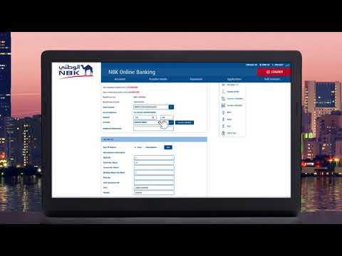 Steps To Create A Local Transfer Through NBK Online Banking