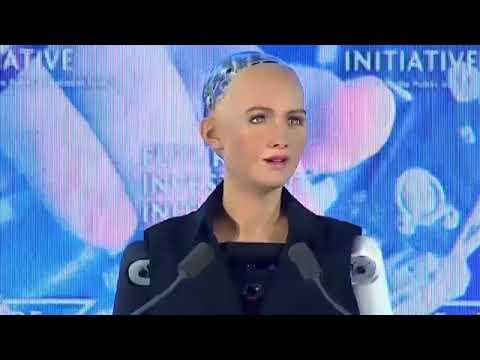 Meet Robot Sophia from Saudi Arabia , World's first official Robot citizen