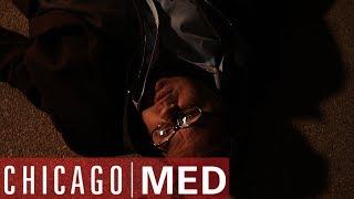 Dr Charles Gets Shot! | Chicago Med