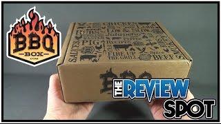 Subscription Spot - BBQ Box January 2017 Subscription Box UNBOXING!