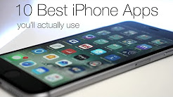 10 Best iPhone Apps You'll Actually Use