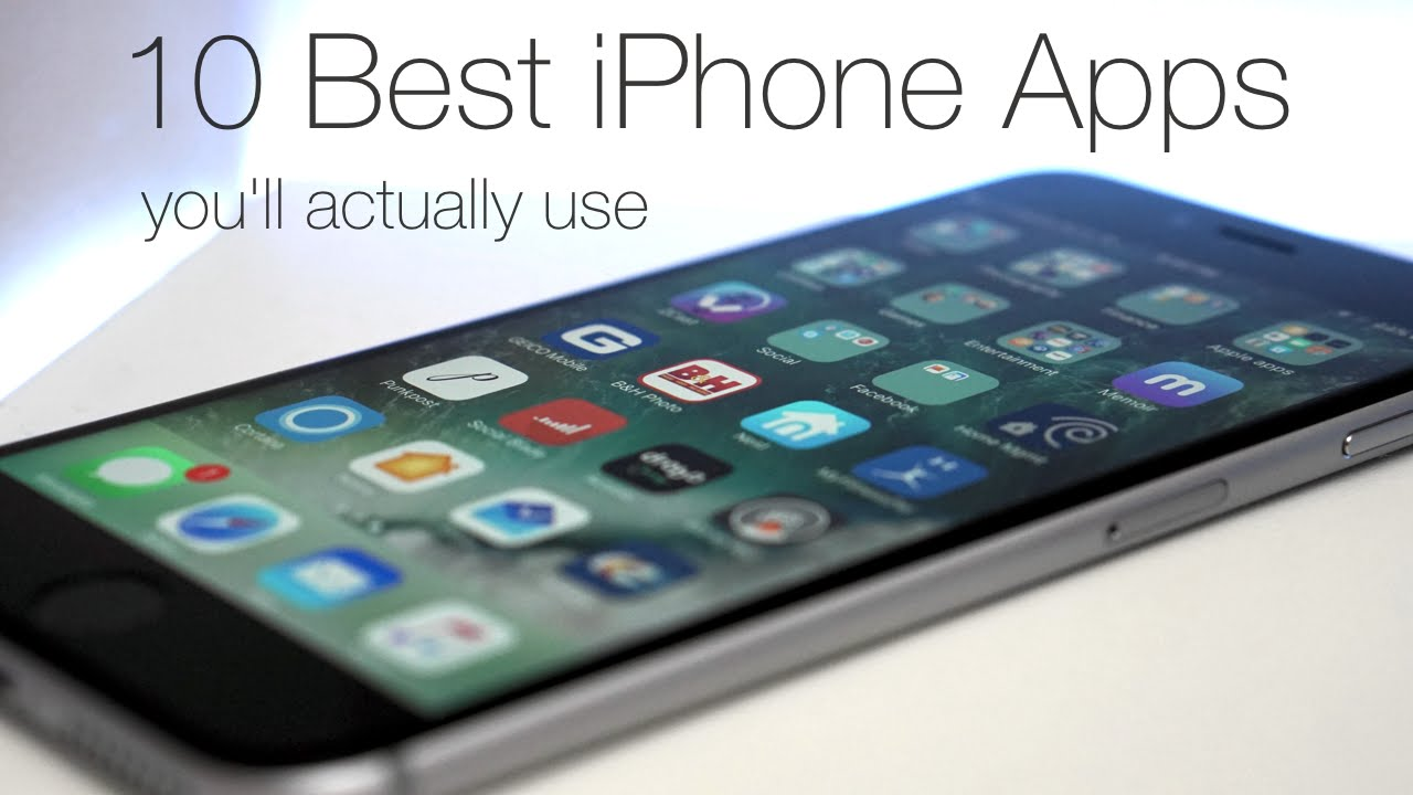 top ten iphone apps