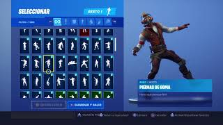 Skin Star-Lord Dancing 81 Fortnite Gestures
