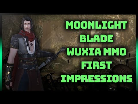 🀄️MOONLIGHT BLADE First Impressions - Wuxia/Wushu Based MMORPG That We Need In The West (1080p)