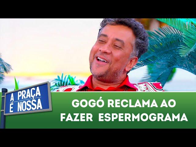 Gogó reclama ao fazer espermograma | A Praça É Nossa (29/11/18)