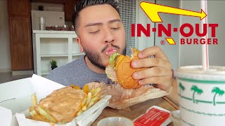 IN-N-OUT MUKBANG | SCARY ALEXA STORYTIME