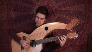 A Day In The Life - The Beatles - Harp Guitar Cover - Jamie Dupuis