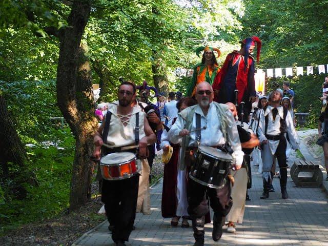 Parada la  Festivalul Medias, cetate medievala 2019