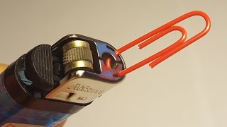4 amazing life hacks with lighters incredible tricks