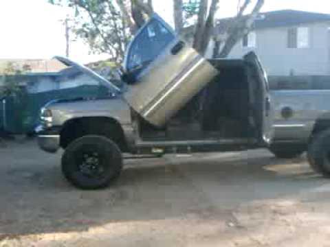 2001 Chevy Silverado 1500 Fabtech Lift Youtube