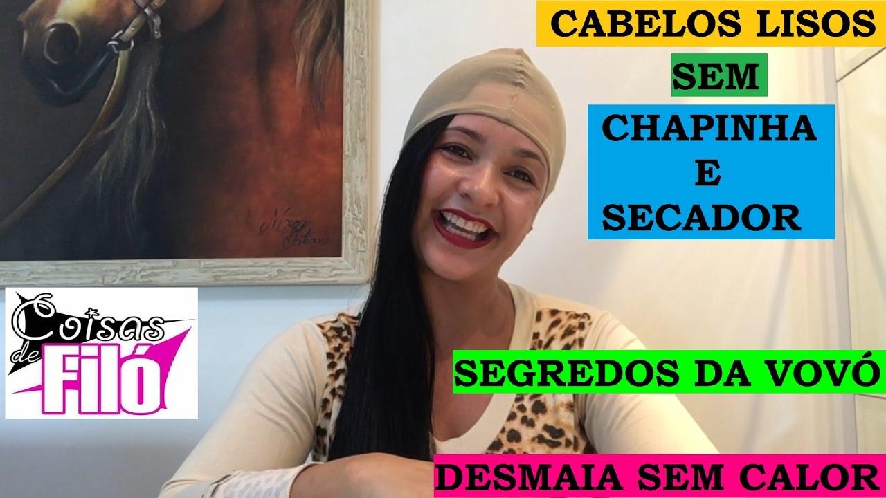 b3677258e CABELO LISO SEM CHAPINHA E SECADOR!!! 2 SEGREDOS DA VOVÓ!!!1 INGREDIENTE +  1 TRUQUE!!!