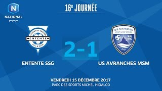 Entente SSG vs Avranches full match