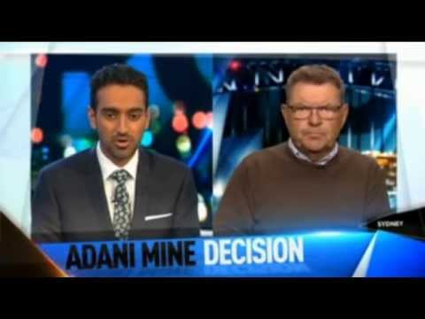 Adani - The Project Giggling with Steve Price