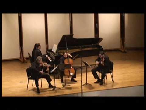 J. BRAHMS PIANO QUARTET C m Op.60 I. ITIN et al mvmt1 pt1