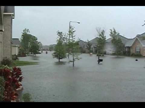 Flooding in League City, TX - April 2009