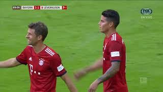GOL: Bayern 3-1 Leverkusen