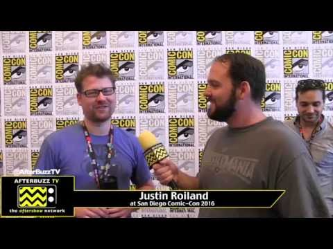 Justin Roiland (Rick and Morty) at San Diego Comic-Con 2016